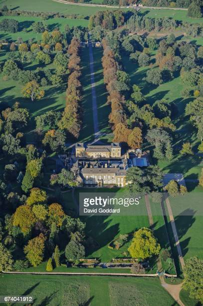 KINGDOM OCTOBER 06 Aerial photograph of Cornbury Park Oxfordshire on October 06 2010 This Grade 1 listed former royal hunting lodge dates back to the...