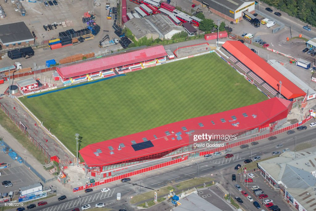 Aerial Views In United Kingdom : News Photo