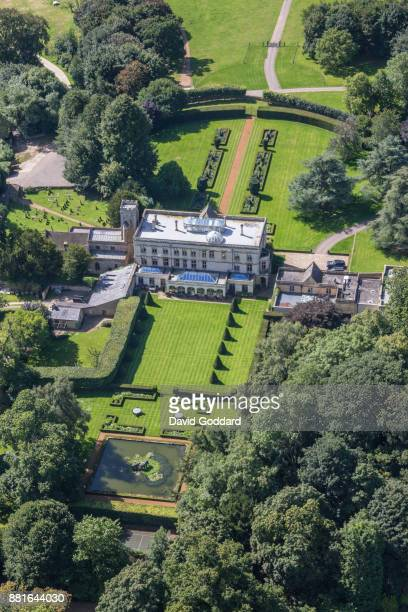 KINGDOM AUGUST 2017 Aerial photograph of North Aston Hall on July 13th 2017 This Jacobean style Country house dates back to the 17thcentury it is...