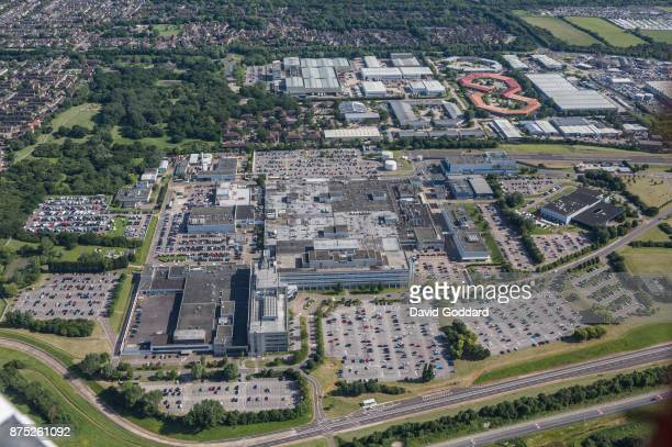 Aerial photograph of the Ford Dunton Technical Centre on June 14 2017 in Basildon District Essex England