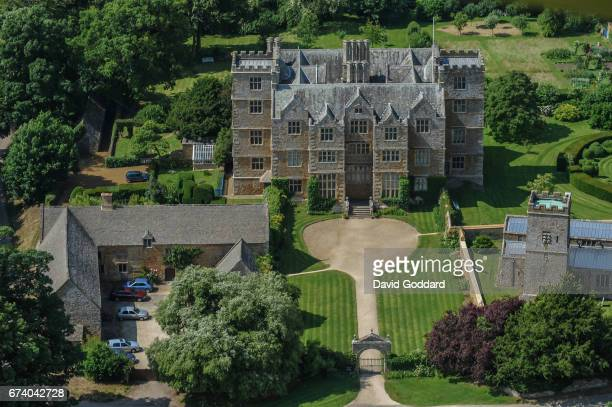 KINGDOM JULY 01 Aerial photograph of the Grade 1 listed Chastleton House on July 01 2010 This Jacobean country house was built between 1607 and 1612...