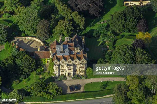 KINGDOM JULY 30 Aerial photograph of the Grade I listed Lake House on July 30 2007 This Elizabethan country mansion dates back to 1578 it is located...