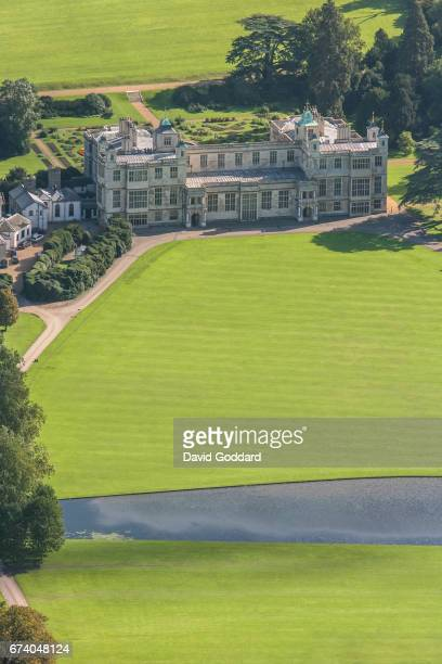 OCTOBER 03 Aerial photograph of the grade one listed Audley End House on October 03 2010 This 17th century Jacobean mansion house is located on the...