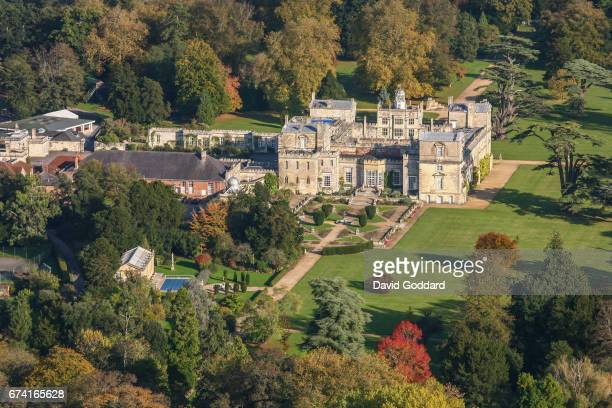 Aerial photograph of Wilton House, official residence of the Earls of Pembroke on October 20, 2010. This Palladium style country house is surrounded...