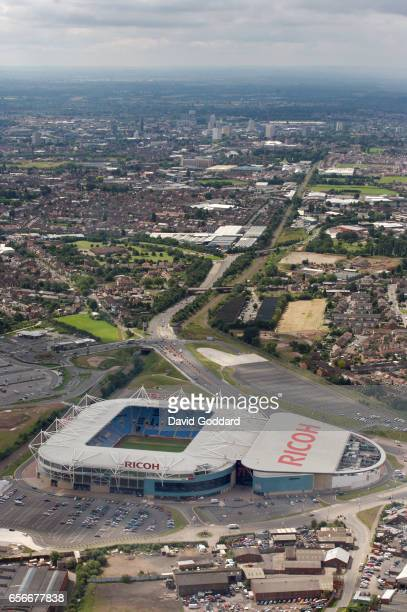 Aerial photograph the Ricoh Arena, Home of Coventry City Football Club on July 18, 2007. (Photograph by David Goddard/Getty Images