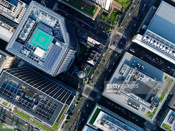 Aerial photography of Marunouchi