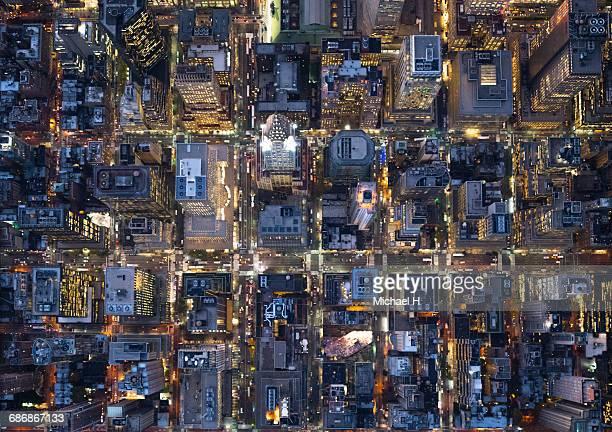 Aerial photography of NY