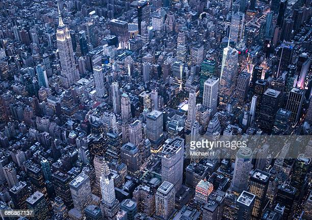 aerial photography of ny - bryant park stock pictures, royalty-free photos & images