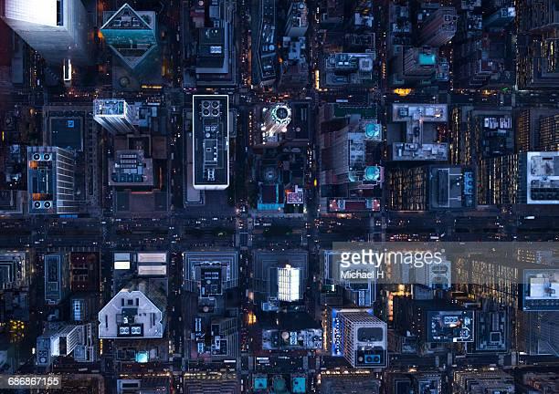 aerial photography of ny - imperial system fotografías e imágenes de stock