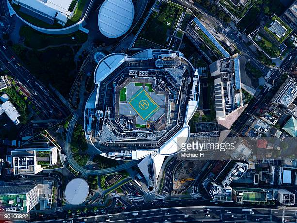 Aerial photography of Roppongi