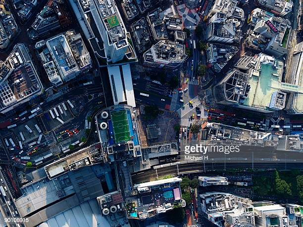 Aerial photography of Shibuya