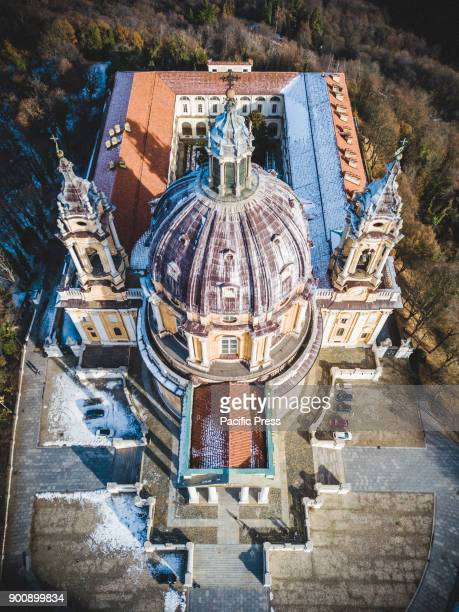 SUPERGA SUPERGA TORINO ITALY Aerial pictures of the Basilica di SupergaThe Basilica of Superga is a church in the vicinity of Turin