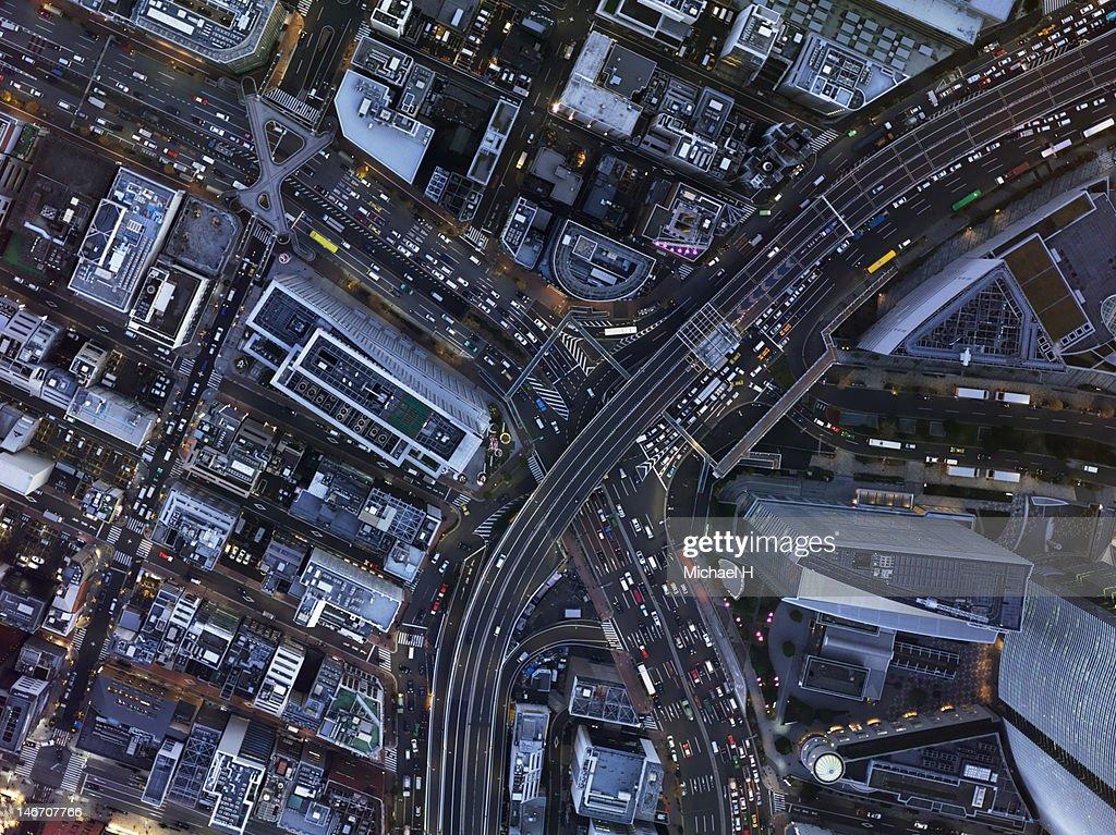 Aerial shoot : Bildbanksbilder