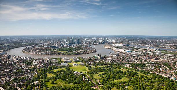 Aerial Shot Of London Wall Art