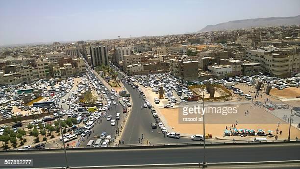 Aerial shot of the Medina