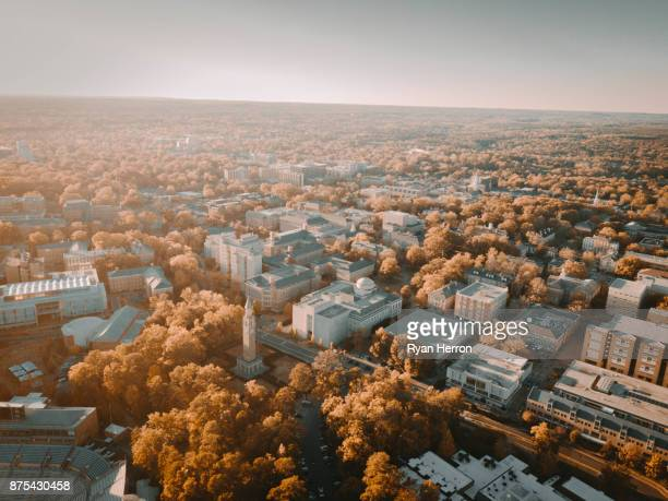 Aerial shot of UNC Campus