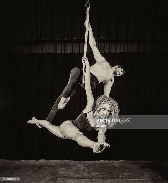 Luftbild Seide Tänzer