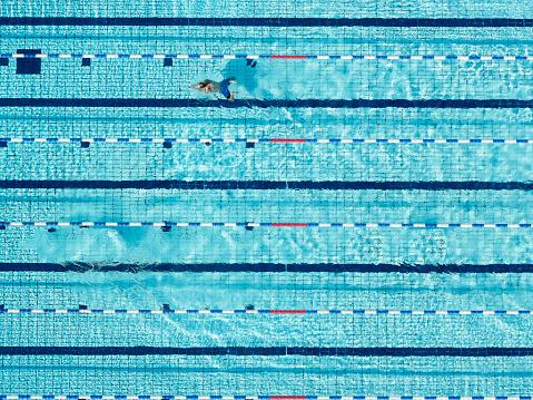 Aerial - Swimming Pool - gettyimageskorea