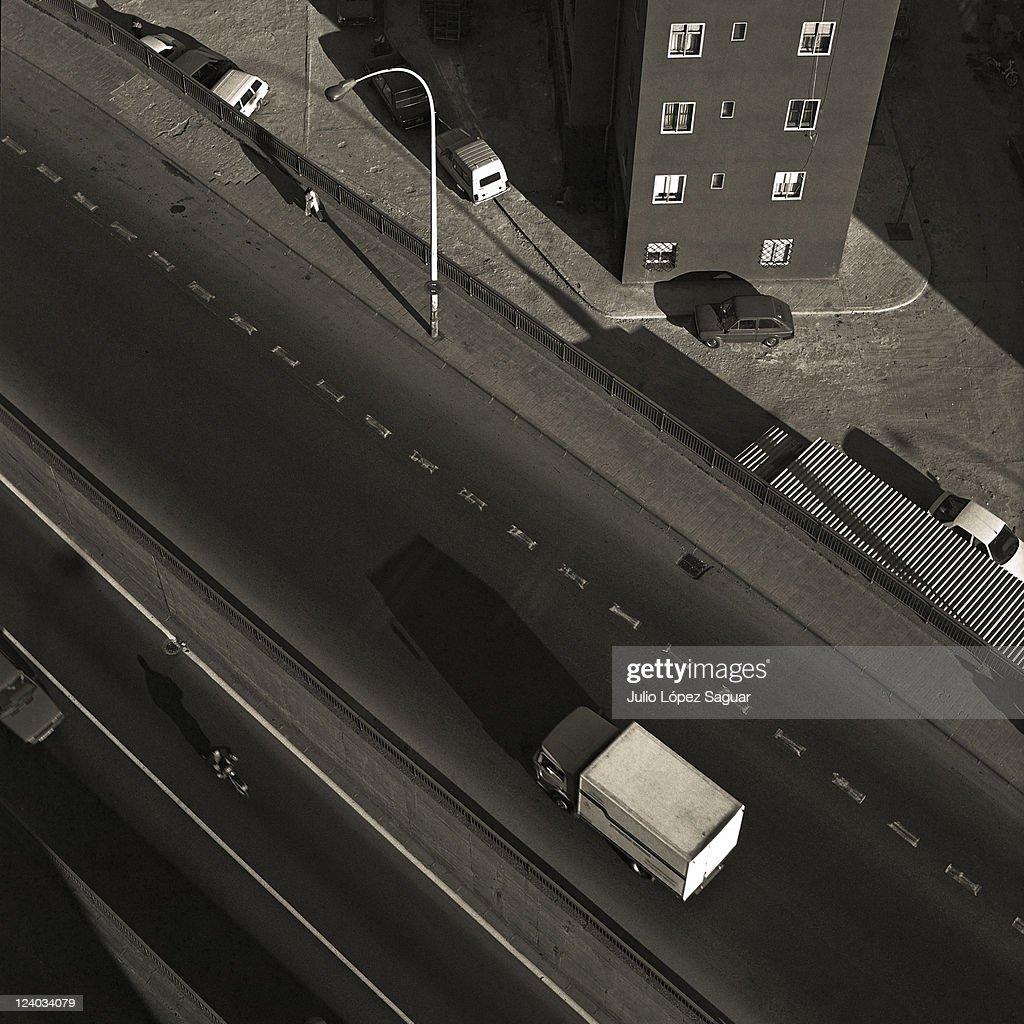 Aerial urban landscape : Stock Photo