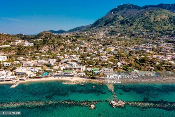 Aerial view Forio d'Ischia Ischia island Campania Italy Europe
