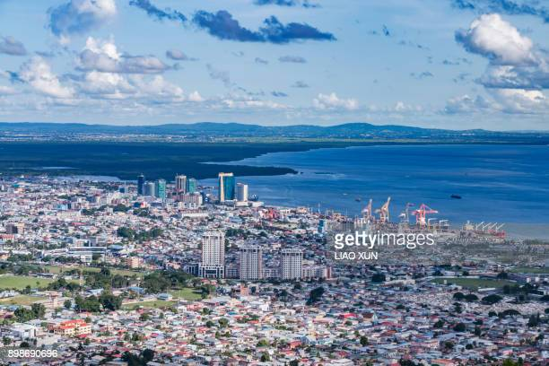 Aerial View - Fort George - Port of Spain