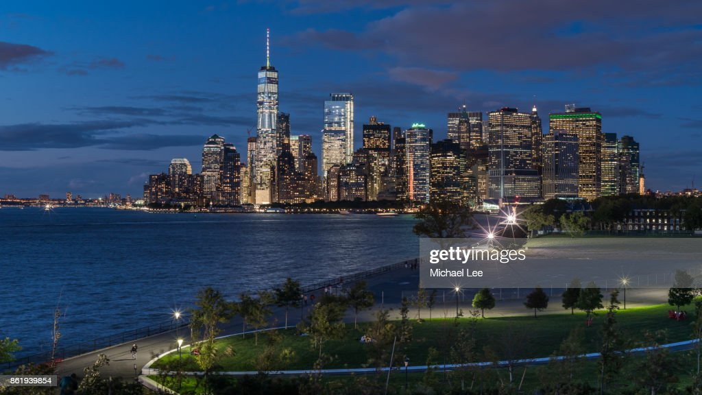 Aerial View From Governors Island New York Stock Photo Getty Images - Governors of new york
