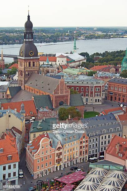 CONTENT] Aerial view from St Peter's Church in Riga Old Town Riga is the capital and largest city of Latvia The city will be the European Capital of...