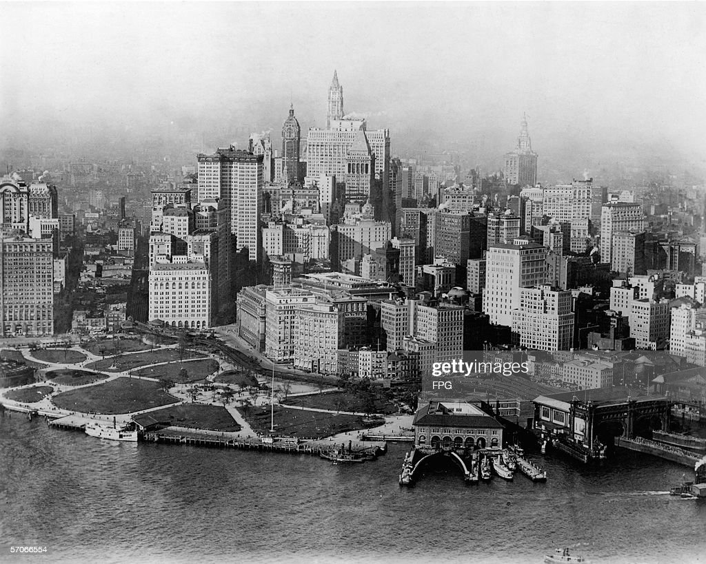 Manhattan 1920s Stock Photos and Pictures | Getty Images |Museum New York Skyline 1920