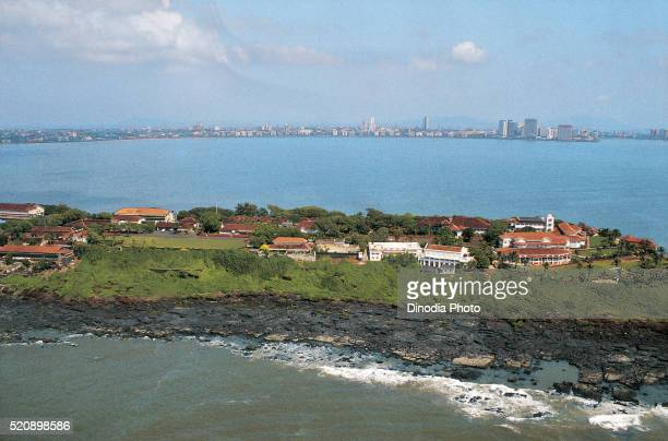 aerial view governor residence at mumbai, maharashtra, india - governor stock pictures, royalty-free photos & images