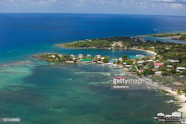 Aerial view Half Moon Bay