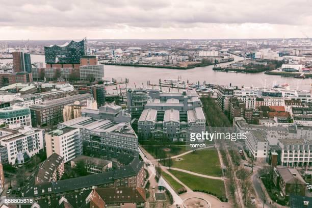 Luftaufnahme Hamburg, Deutschland