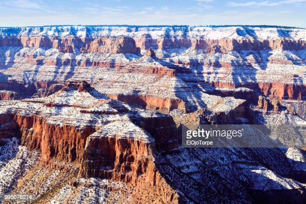 Aerial view, high angle view, Grand Canyon, United States