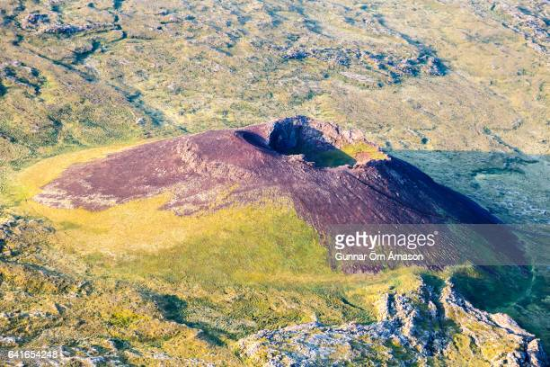 aerial view iceland - gunnar örn árnason stock pictures, royalty-free photos & images