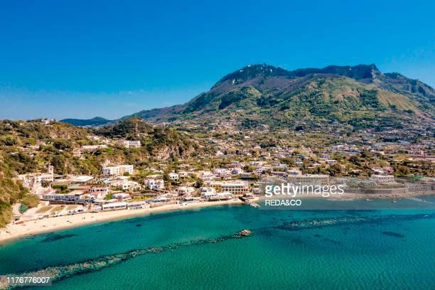 Aerial view Ischia Campania Italy Europe