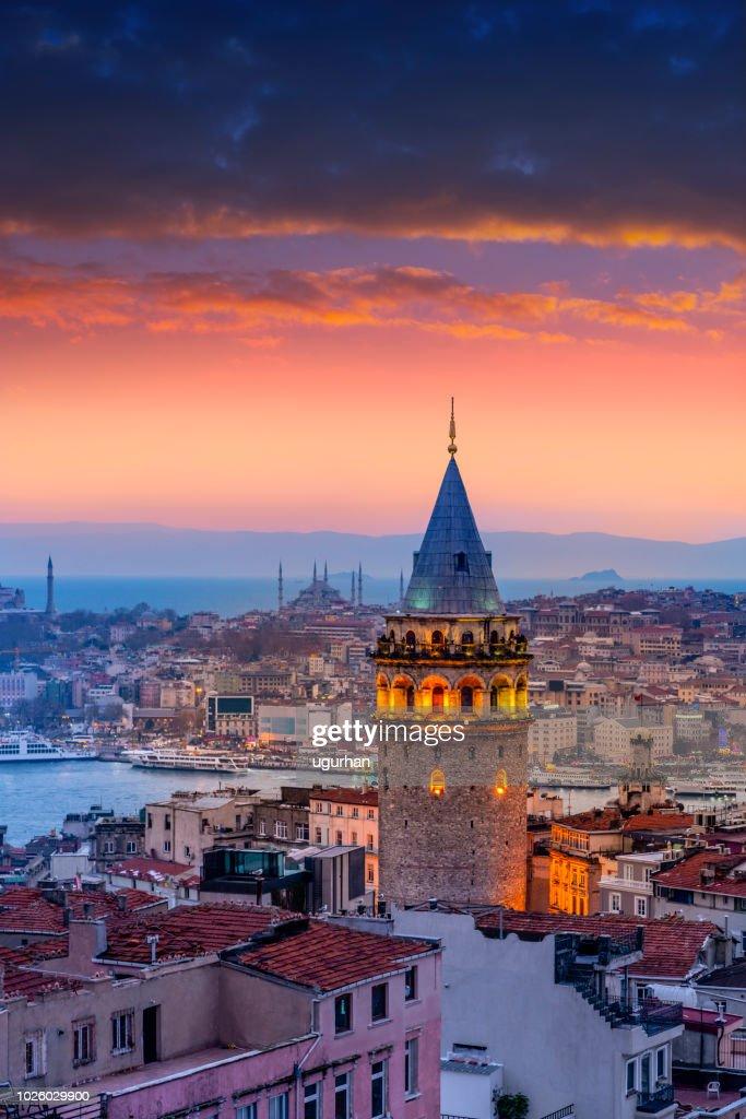 Vista aérea de Estambul : Foto de stock