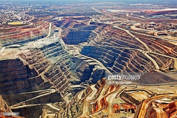 Aerial view , Kalgoorlie Super Pit gold mine