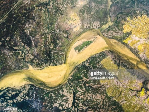 Aerial view O Grove Wetlands, Galicia 1