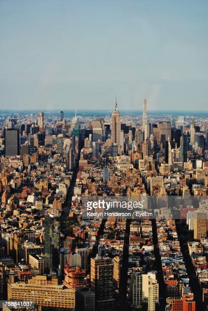 aerial view of a city - winston salem stock pictures, royalty-free photos & images