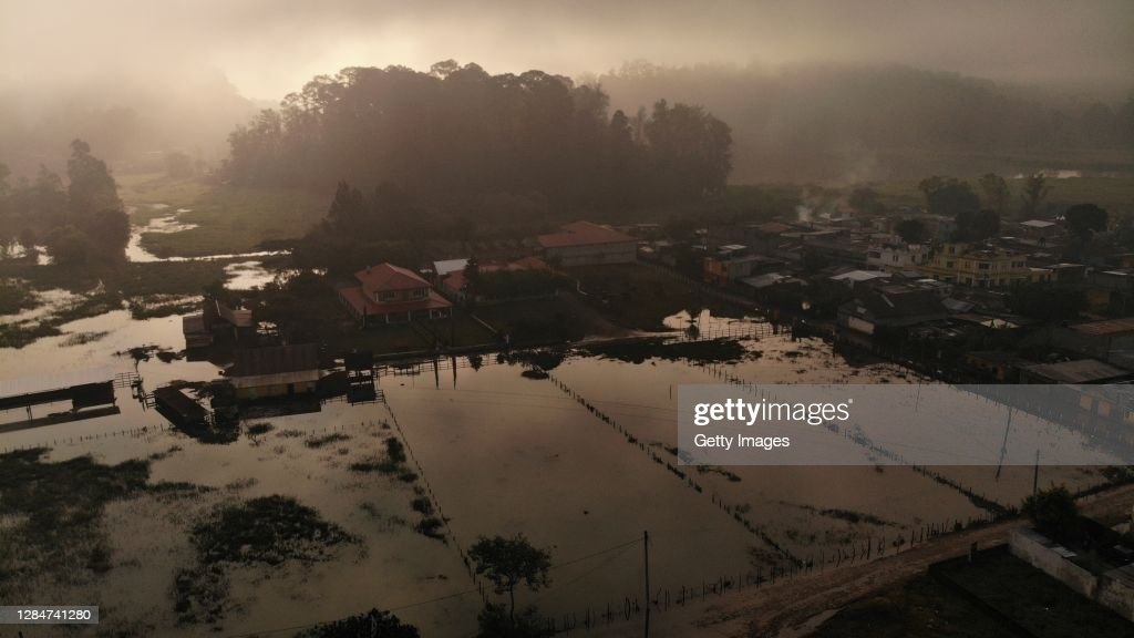 Aftermath of Tropical Depression Eta in Guatemala : News Photo