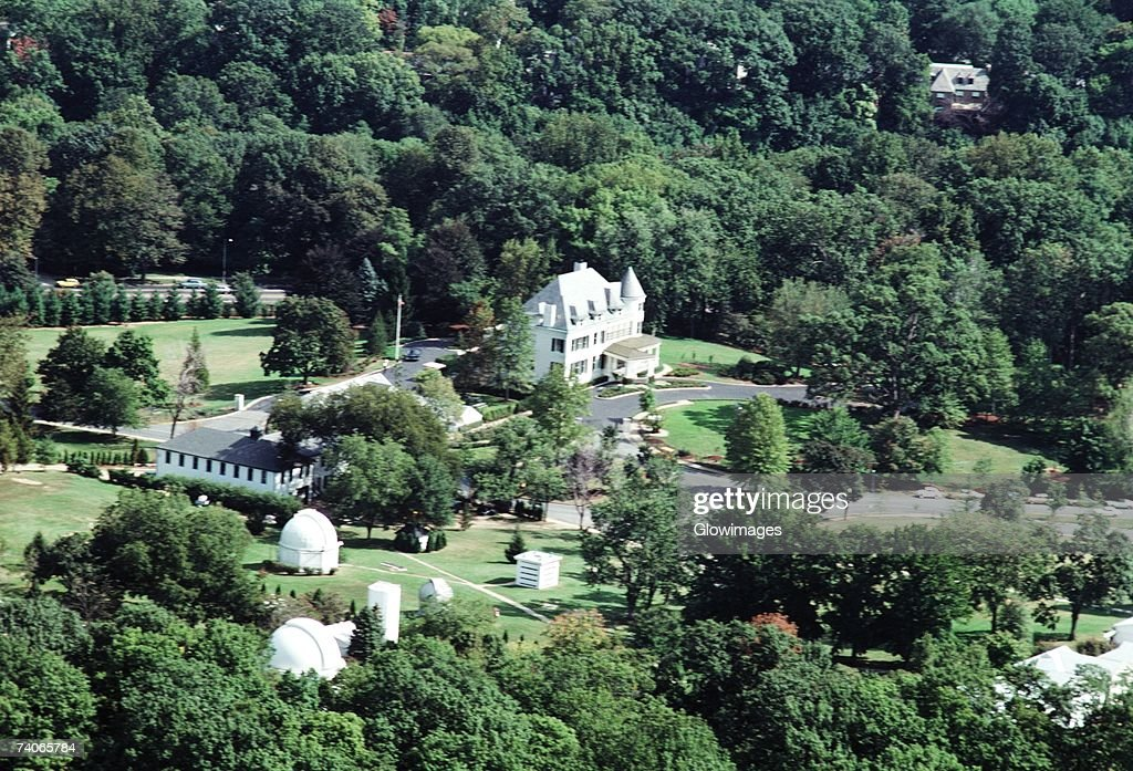 Aerial View Of A Government Building Naval Observatory