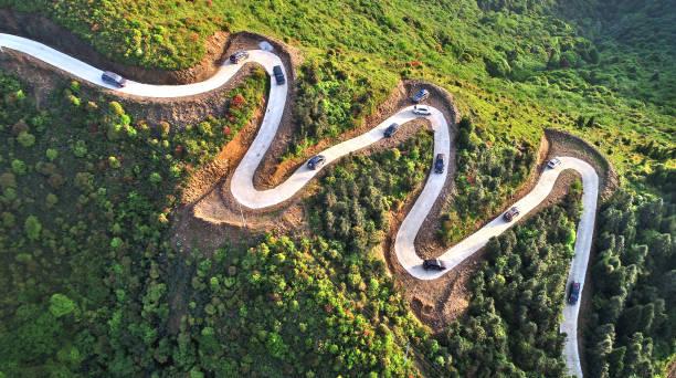 CHN: Mountain Road In Ji'an