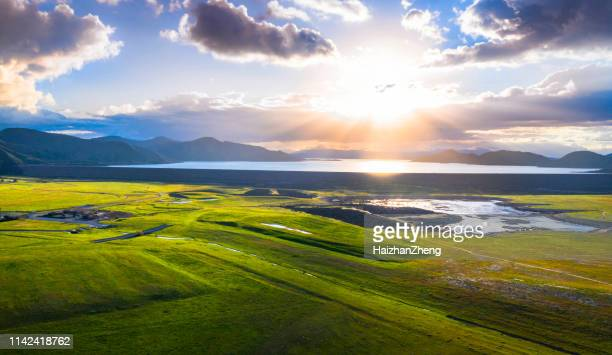 aerial view of a rural area near diamond valley lake - san jose california stock pictures, royalty-free photos & images