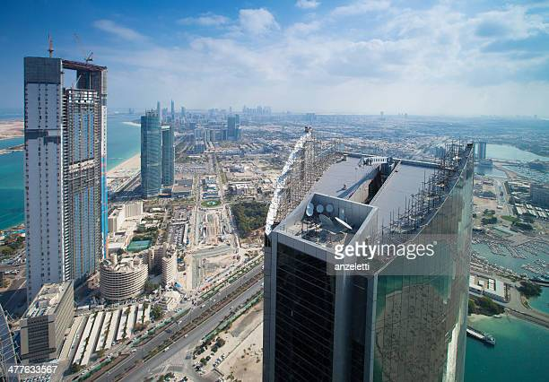 Luftbild von Abu Dhabi