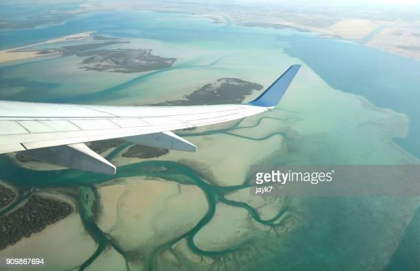 Aerial View of Abu Dhabi
