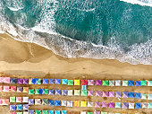 Aerial view of Acapulco in Mexico