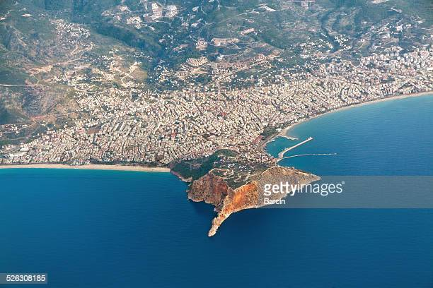 Aerial view of Alanya