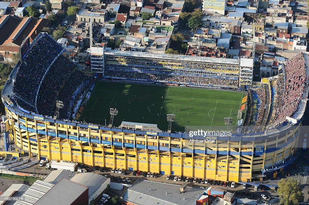 View of Boca Juniors Stadium : News Photo