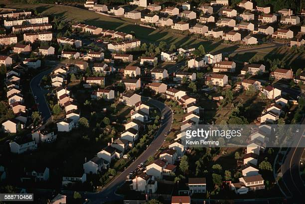 Aerial View of Annapolis Tract Housing