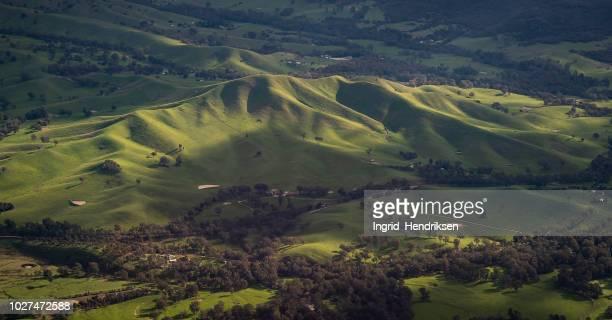 オーストラリアの空撮 - 飛行機の視点 ストックフォトと画像