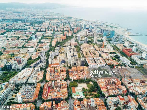 Vista aérea de Barcelona